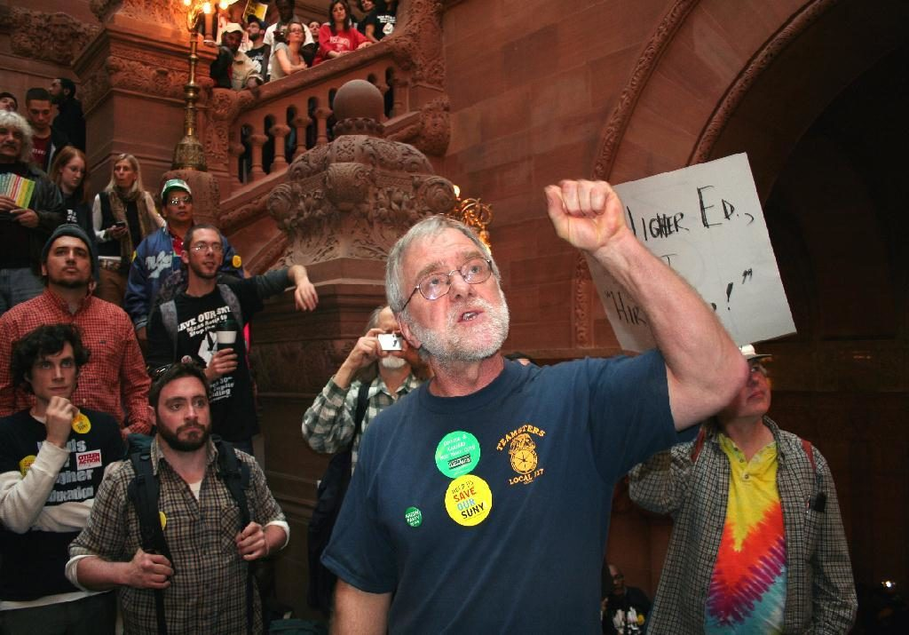 New York Green Party Candidate Howie Hawkins