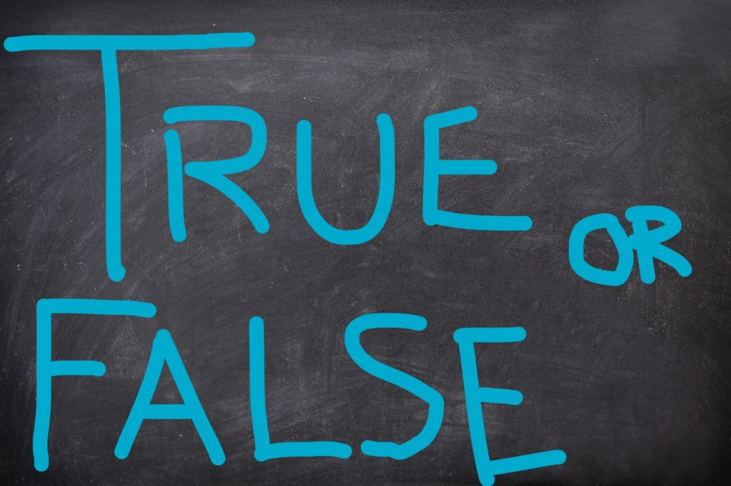 Publisher's Corner: OK class, time for a true-false quiz on