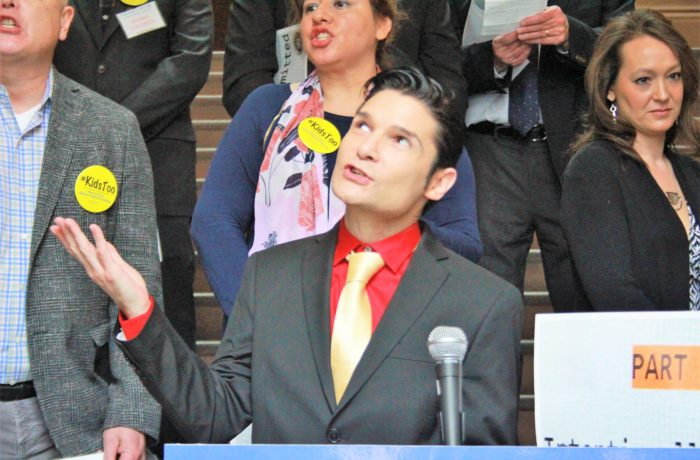 Corey Feldman Speaks in Albany in Support of Child Victims Act