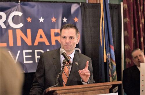 GOP Candidate Marc Molinaro. Photo by David Livshin and Justin Varuzzo