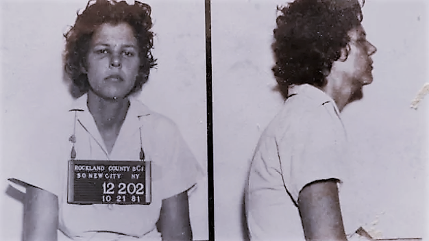 Judith Clark, on the day of her arrest on October 20, 1981.